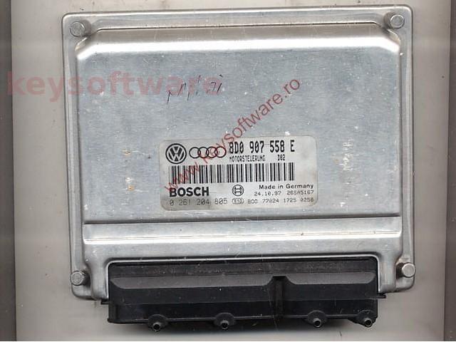 Defecte Ecu Audi A4 1.8 0261204805 M3.8.2