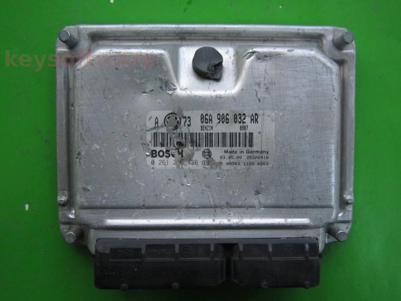 Defecte Ecu VW Golf4 1.8 06A906032AR 0261206436 ME7.5 ARZ