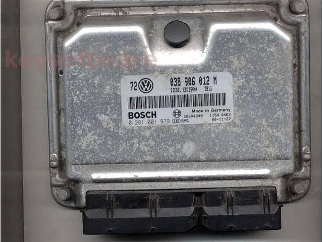 Defecte Ecu VW Golf4 1.9TDI 0281001979 EDC15VM ALH