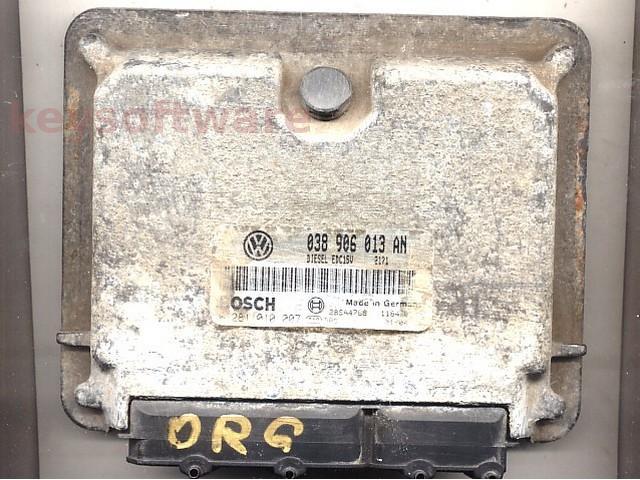 Defecte Ecu VW Caddy 1.9SDI 0281010007 AYQ EDC15V