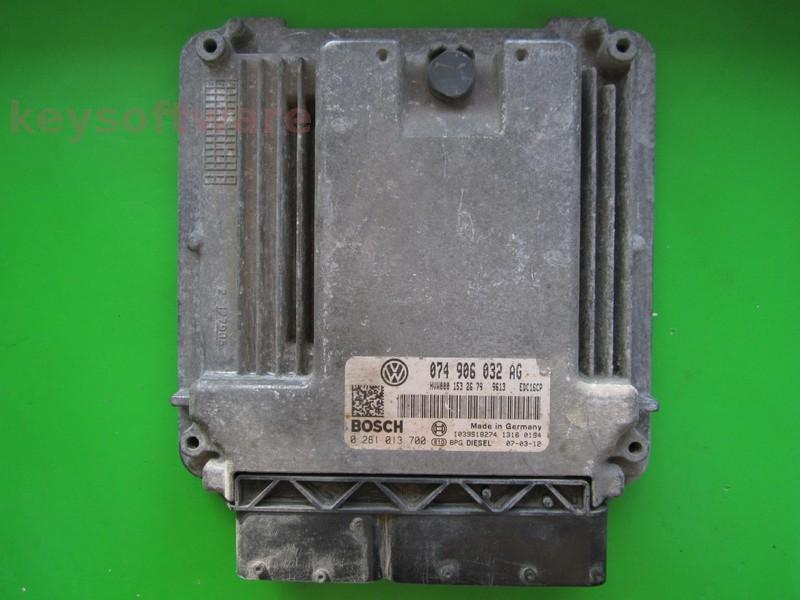 Defecte Ecu VW Crafter 2.5TDI 074906032AG 0281013700 EDC16CP34