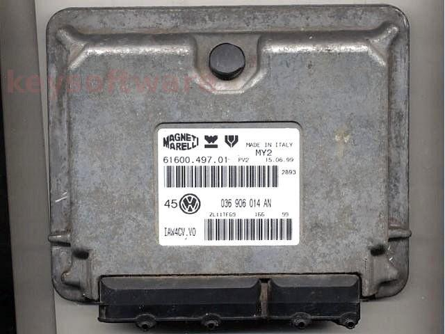 Defecte Ecu VW Golf4 1.4 036906014AN IAW 4CV.VO AHW