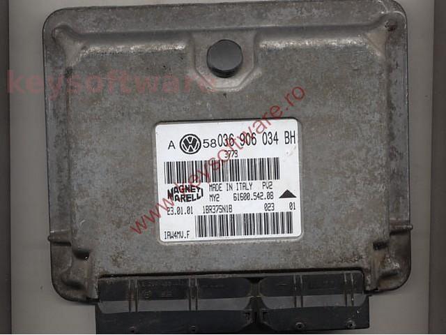 Defecte Ecu VW Bora 1.6 036906034BH IAW 4MV.F AZD