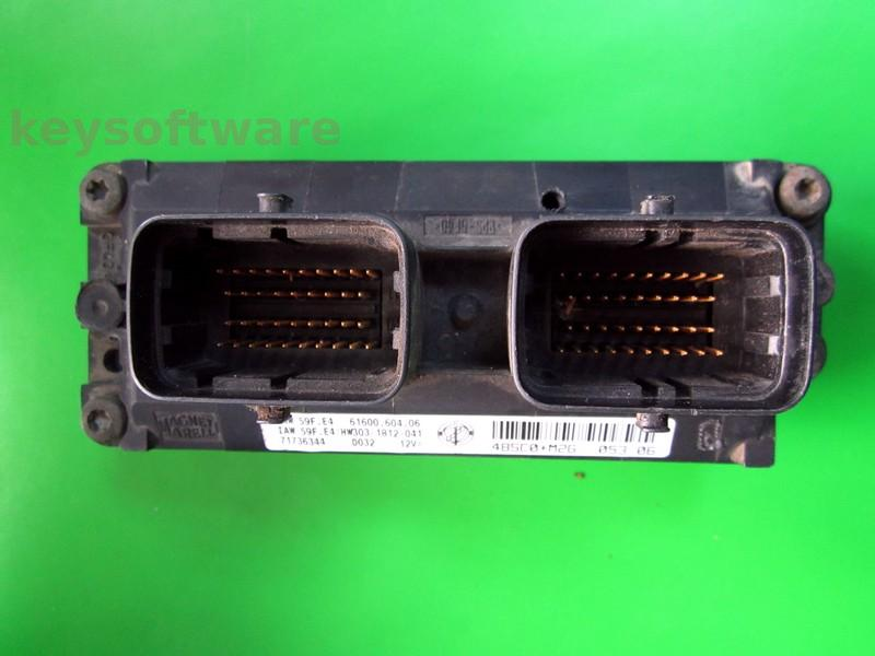 Defecte Ecu Fiat Punto 1.2 71736344 IAW 59F.E4