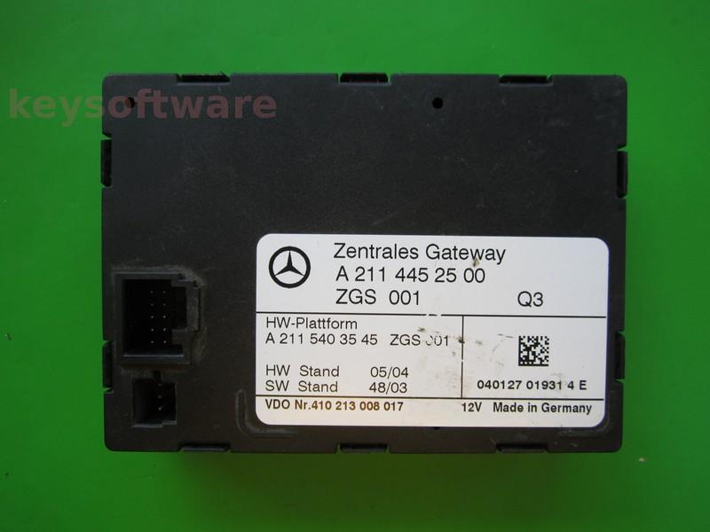 Defecte ALTELE Mercedes E320 A2115403545 modul inchidere central