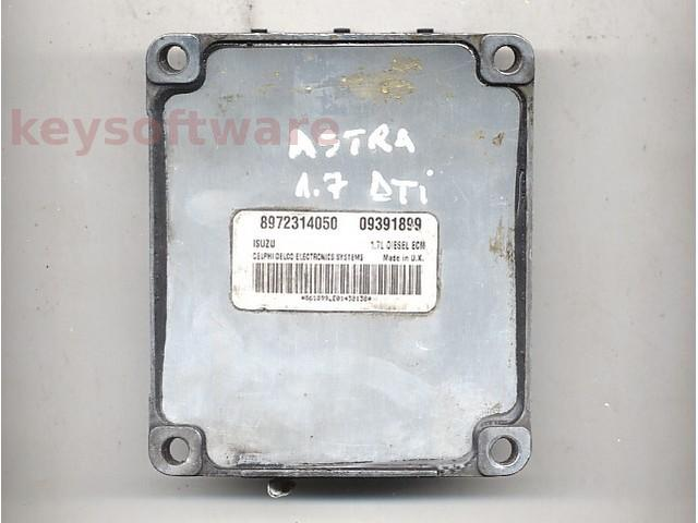 Defecte Ecu Opel Astra G 1.7DTI 09391899 Isuzu