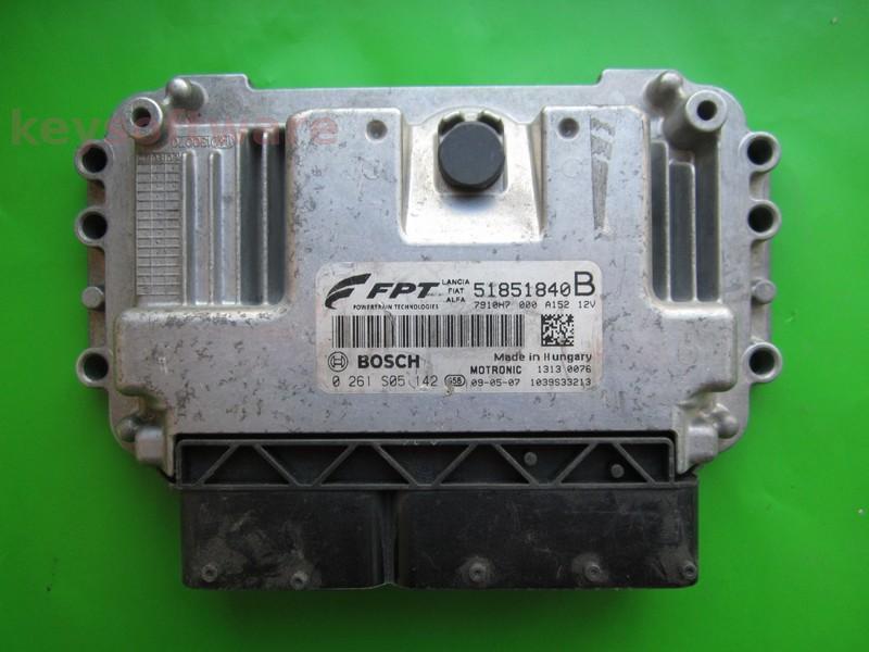 ECU Alfa Romeo Mito 1.4 0261S05142 ME7.9.10
