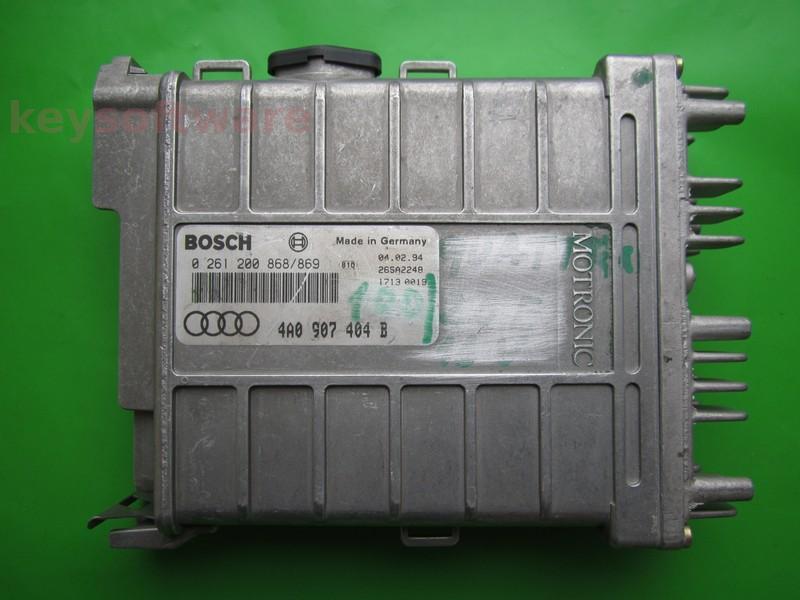 ECU Audi 100 2.0 4A0907404B 0261200868 MK1.2.2