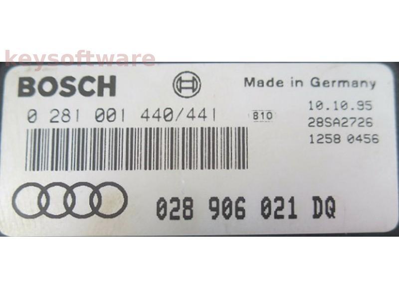 ECU Audi 80 1.9TDI 028906021DQ 0281001441 EDC1.3.3 {