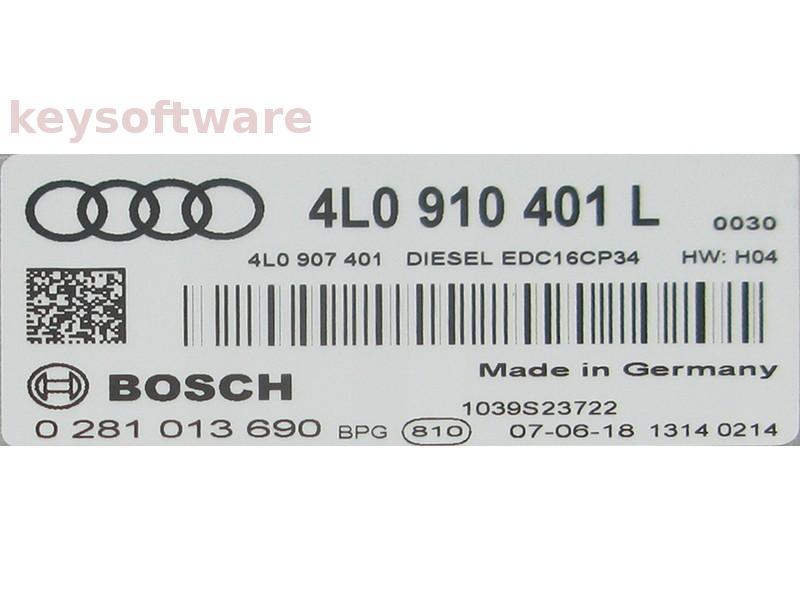 ECU Audi Q7 3.0TDI 0281013690 EDC16CP34 {