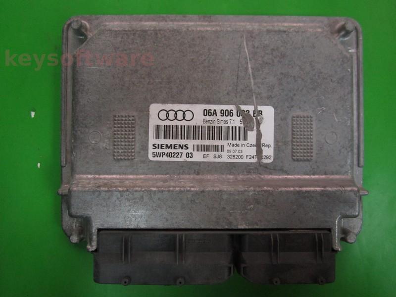 ECU Audi A3 1.6 06A906033BB 5WP40227 SIMOS 7.1