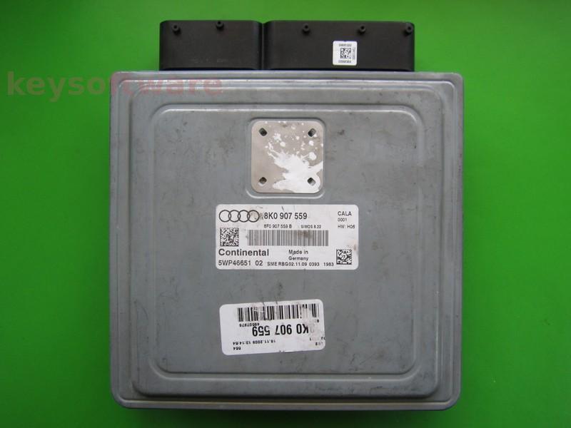 ECU Audi A4 3.2 8K0907559 SIMOS 8.22