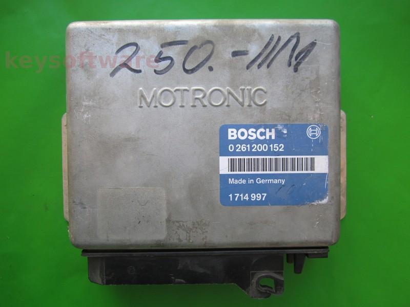 ECU Bmw 320 1714997 0261200152 M1.1 E30