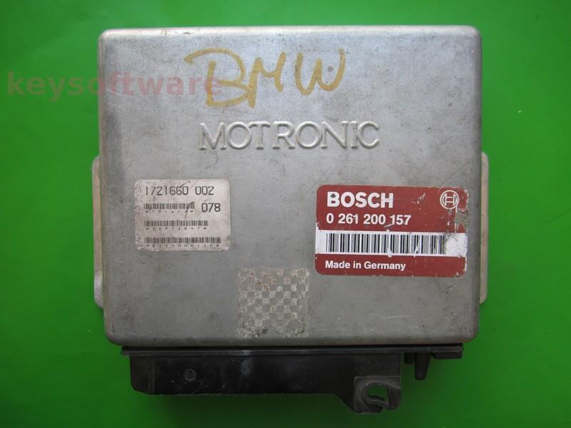 ECU Bmw 318 1721660 0261200157 M1.3 E30