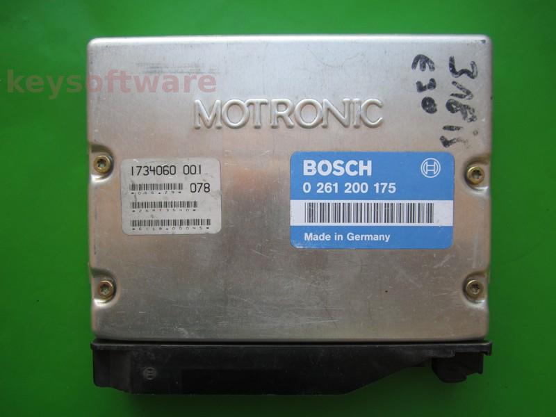 ECU Bmw 318 1734060 0261200175 M1.7 E30
