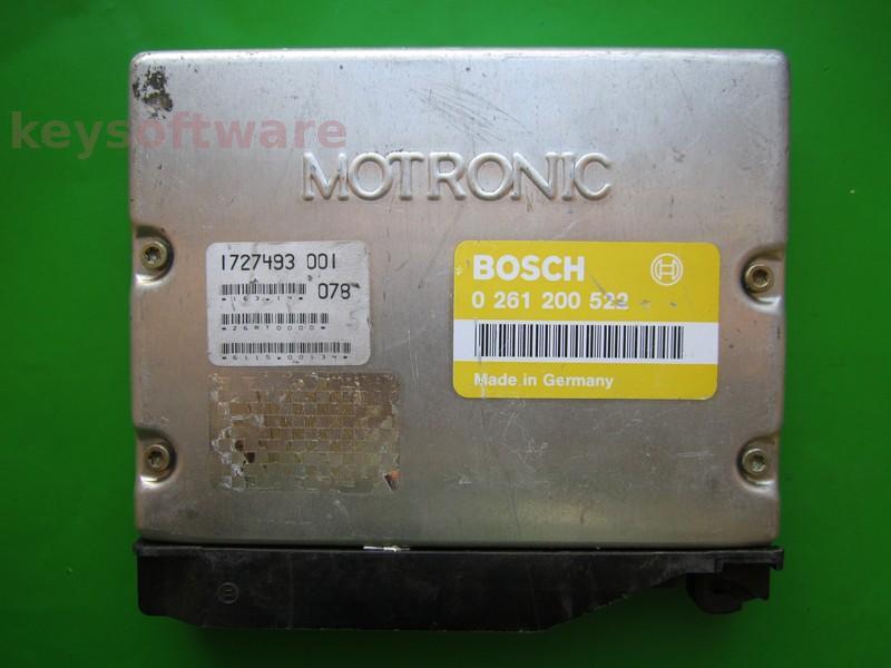 ECU Bmw 316 1727493 0261200522 M1.7 E36