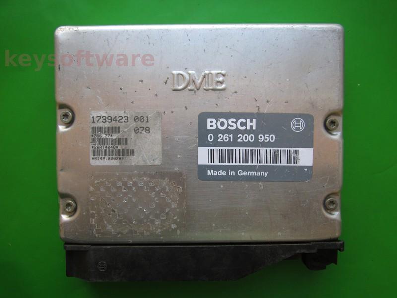 ECU Bmw 318 1739423 0261200950 M1.7 E36