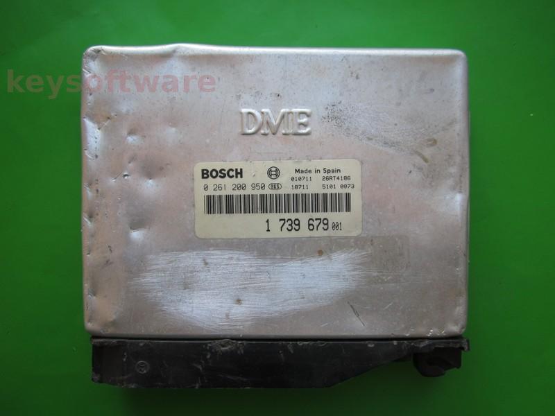 ECU Bmw 318 1739679 0261200950 M1.7 E36