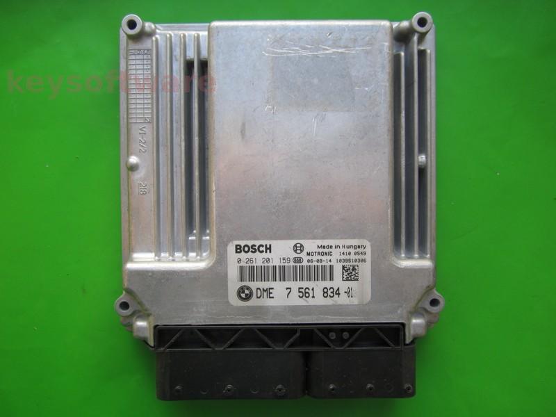 ECU Bmw 320 DME7561834 0261201159 MEV9.2 E90