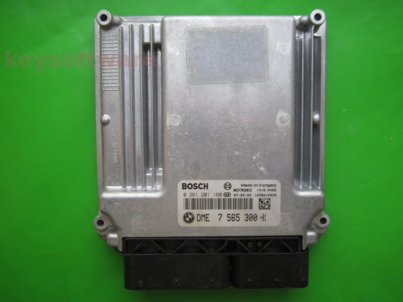 ECU Bmw 320 DME7565300 0261201160 MEV9.2 E90 {
