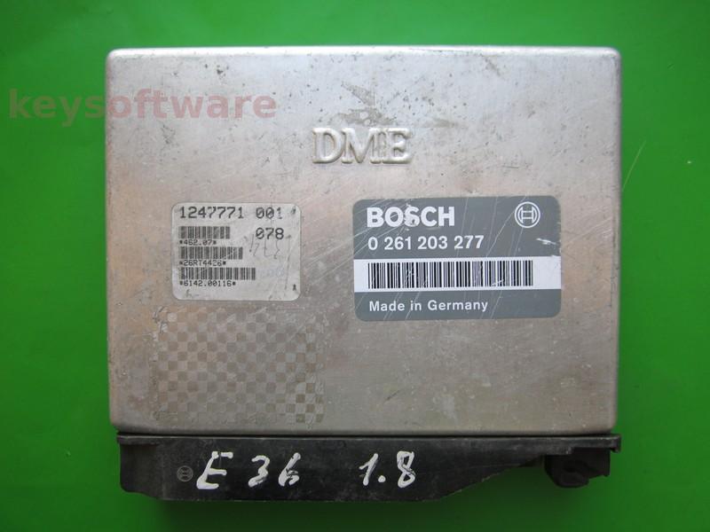 ECU Bmw 318 1247771 0261203277 M1.7.2 E36