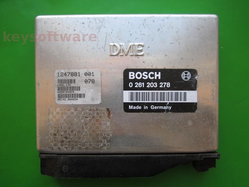ECU Bmw 318 1247881 0261203278 M1.7.2 E36