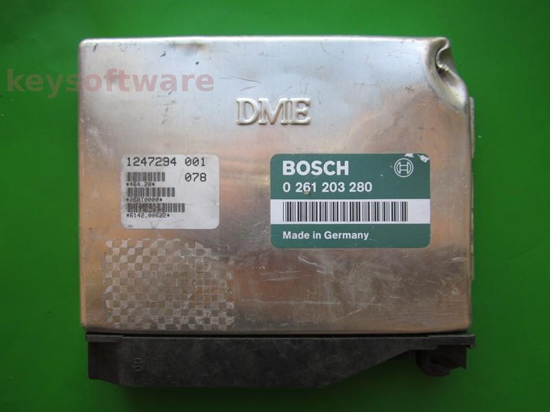 ECU Bmw 318 1247294 0261203280 M1.7.2 E36
