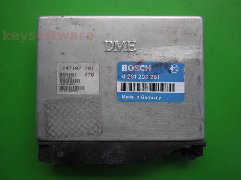 ECU Bmw 318 1247102 0261203281 M1.7.2 E36 {