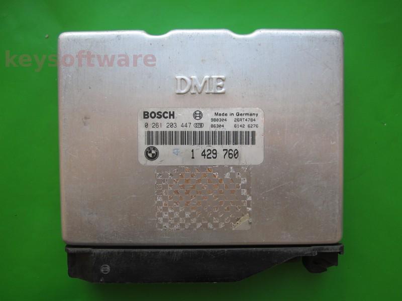 ECU Bmw 318 1429760 0261203447 M1.7.2 E36