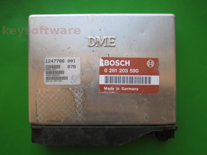ECU Bmw 318 1247786 0261203590 M1.7.2 E36`