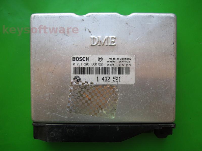 ECU Bmw 316 1432521 0261203660 M1.7.3 E36