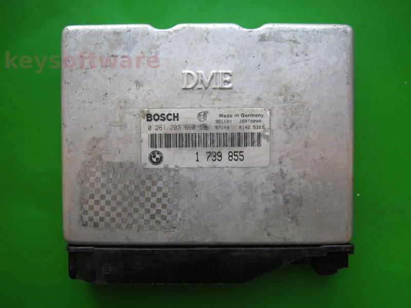 ECU Bmw 316 1739855 0261203660 M1.7.3 E36