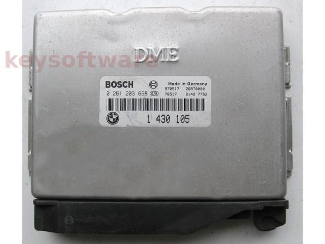 ECU Bmw 318 1430105 0261203668 E36 M5.2 {