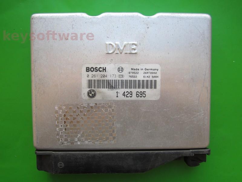 ECU Bmw 318 1429695 0261204173 E36 BMS43