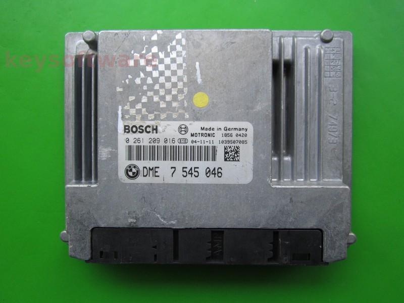 ECU Bmw 316 DME7545046 0261209016 ME9.2 E87 {