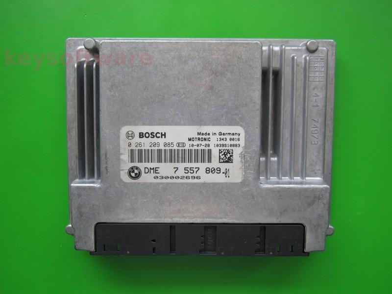 ECU Bmw 316 DME7557809 0261209085 ME9.2 E87