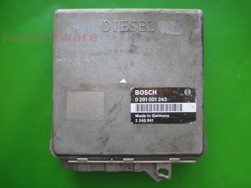 ECU Bmw 318TDS 2245541 0281001243 EDC1.3.1 E36