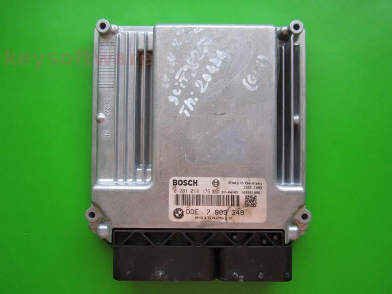 ECU Bmw X3 2.0D 0281014176 DDE7805349 EDC16C35-2.12 E83 +