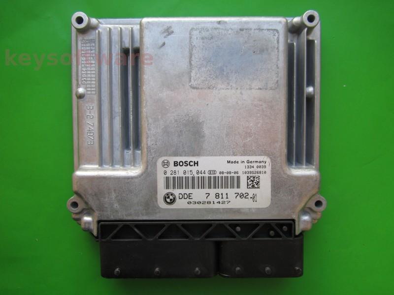 ECU Bmw 123D DDE7811702 0281015044 EDC17CP04 E88