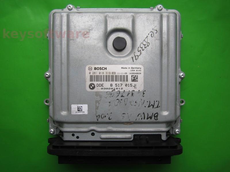 ECU Bmw X6 3.0D 0281018319 DDE8517015 EDC17CP45 E71