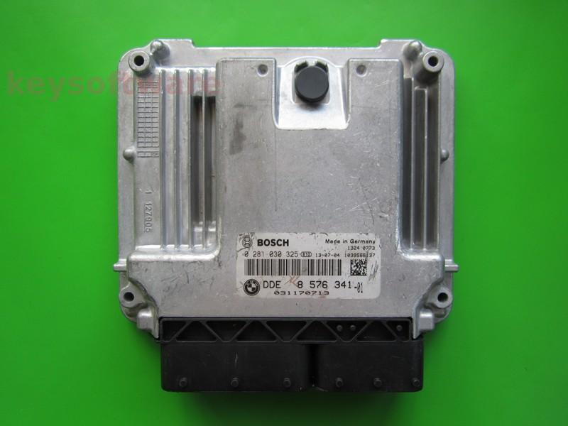 ECU Bmw 116D DDE8576341 0281030325 EDC17C50 F20