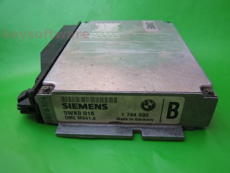 ECU Bmw 328 1744598 5WK9018 DME MS41.0 E36