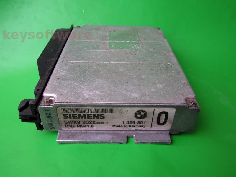 ECU Bmw 520 1429861 5WK90322 DME MS41.0 E39