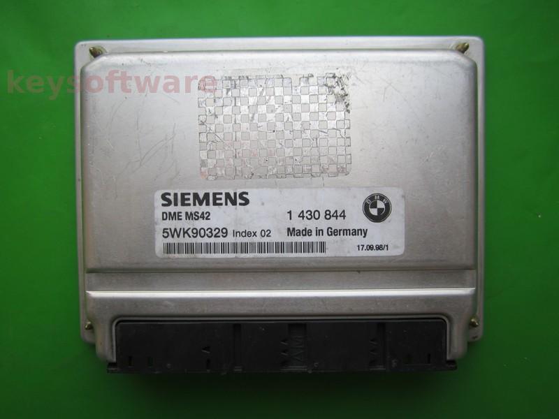 ECU Bmw 328 1430844 5WK90329 DME MS42 E46