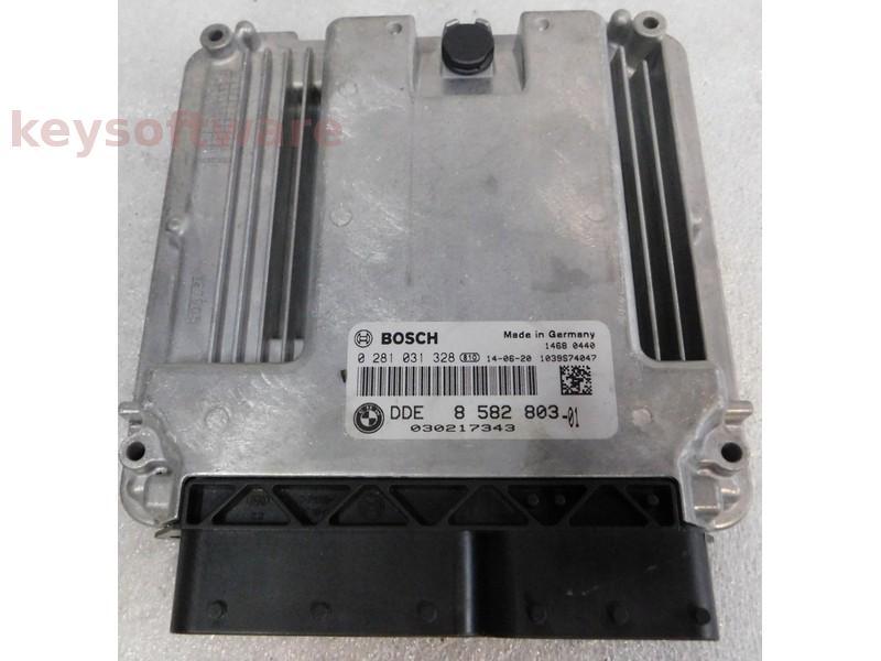 ECU Bmw X5 3.0D DDE8582803 0281031328 EDC17C56 F15
