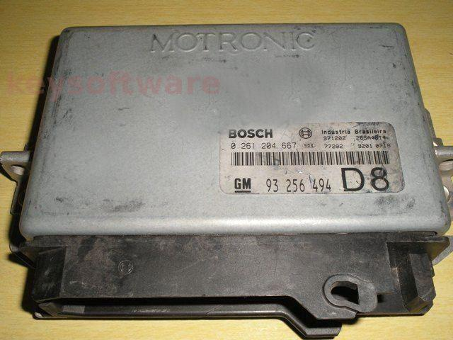 ECU Chevrolet Captiva 2.0 0261204667 M1.5.4 {