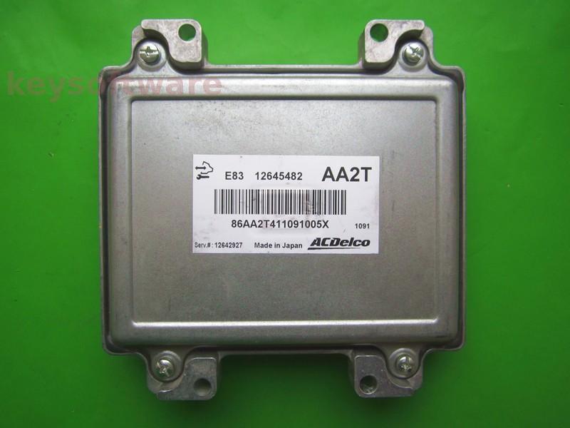 ECU Chevrolet Cruze 1.8 12645482 ACDELCO E83