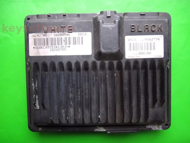 ECU Chevrolet Blazer 4.3 16200785 16208546 BKCX