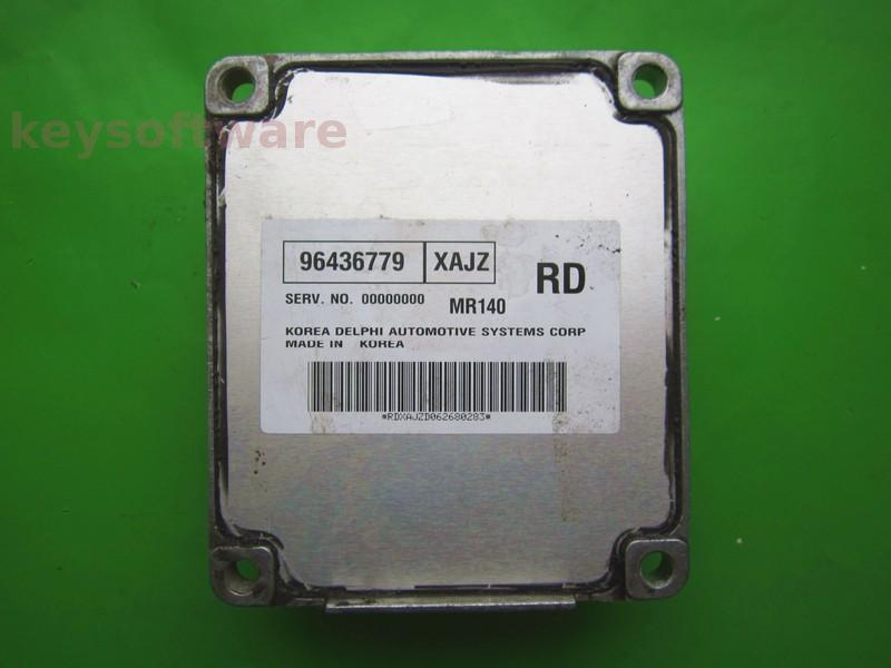 ECU Chevrolet Aveo 1.4 96436779 MR140