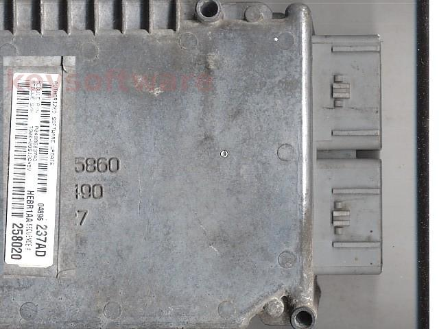 ECU Chrysler 300M 2.7 P04896237AD 258020